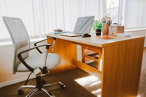 office furniture consisting of office chair and desk