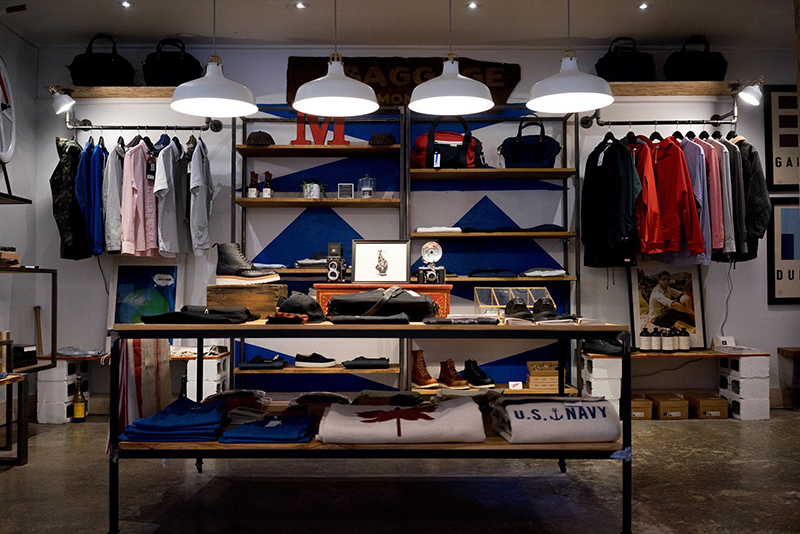Store clothing shop
