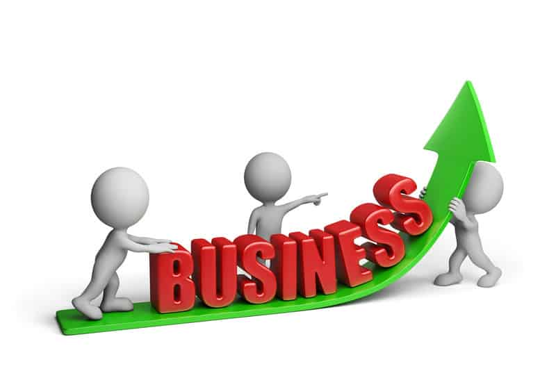 Business arrow up illustrations