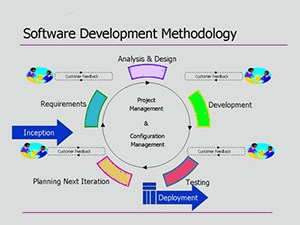 Software Development methology cycle chart
