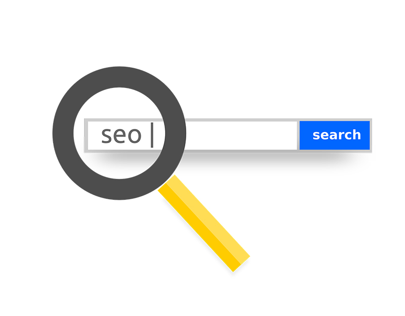 SEO internet marketing illustration