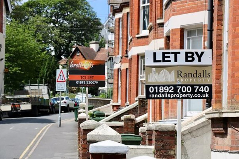 available buy-to-let properties with signages