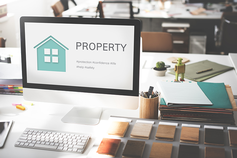Property website concept