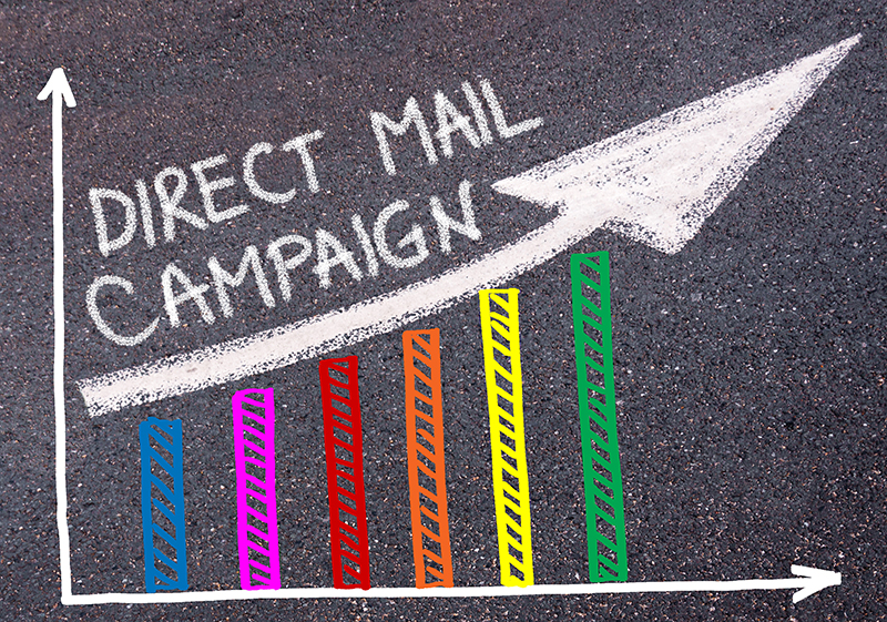 Direct mail campaign concept