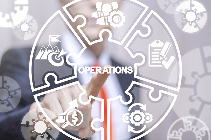 Operations business success work concept.