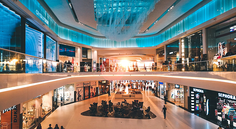 Retail Outlet – shopping mall