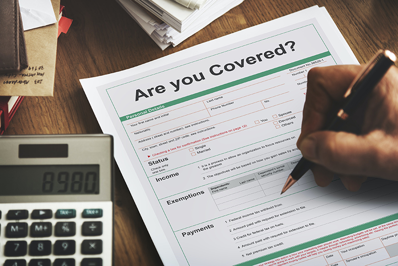Are You Covered Healthcare Insurance Protection Concept