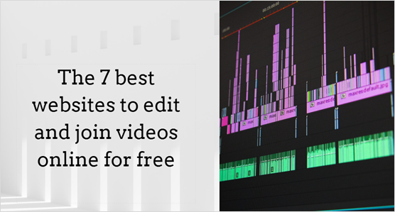Video editing features
