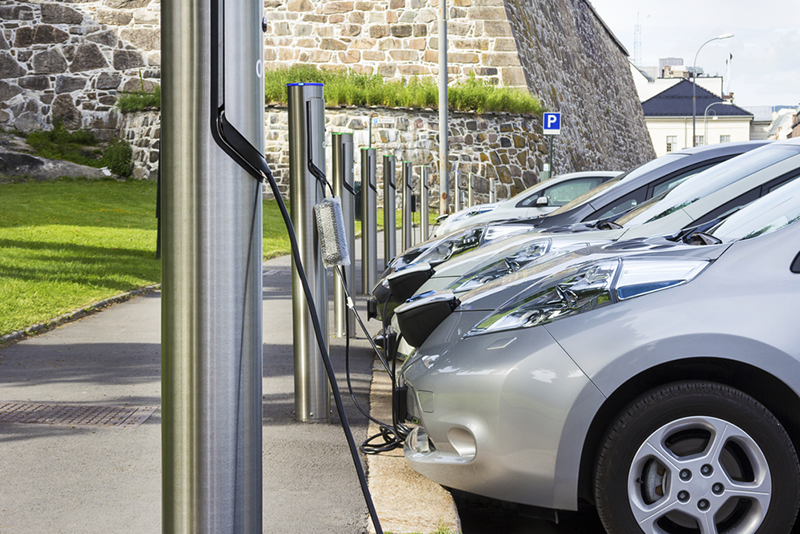 Free Recharging Station for EV - electric vehicles