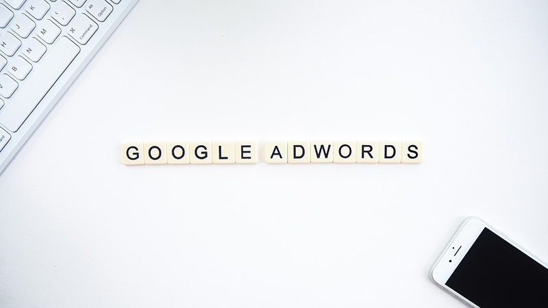 Google adwords in scrabble text