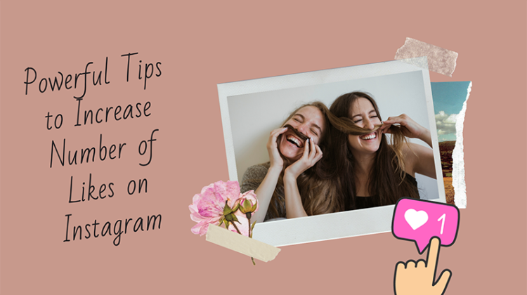 Instagram tips to increase like concept