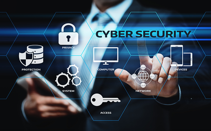 Cybersecurity concept