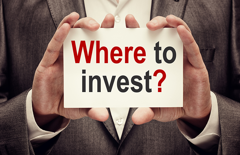 Investor. Business concept. Where To Invest?