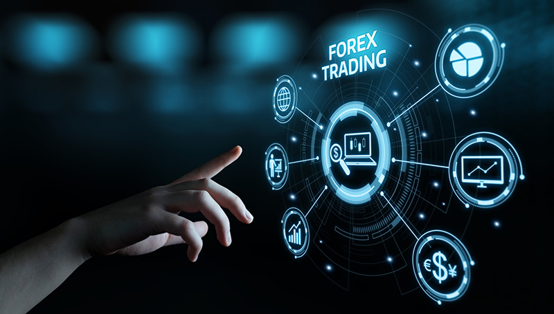 Forex Trading Stock Market Investment Exchange Currency Business Internet Concept