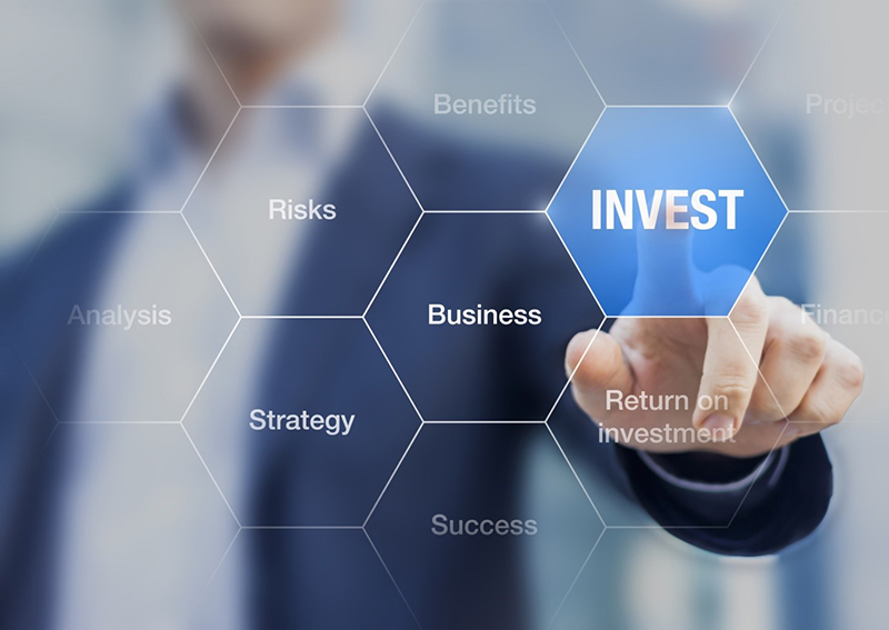 Digital business Investing concept