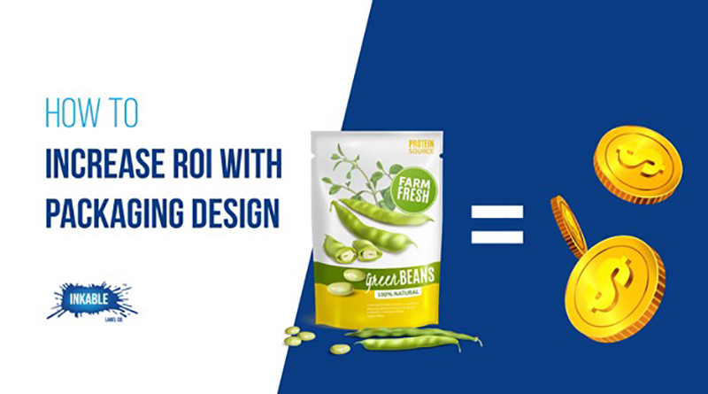 ROI with packaging design concept