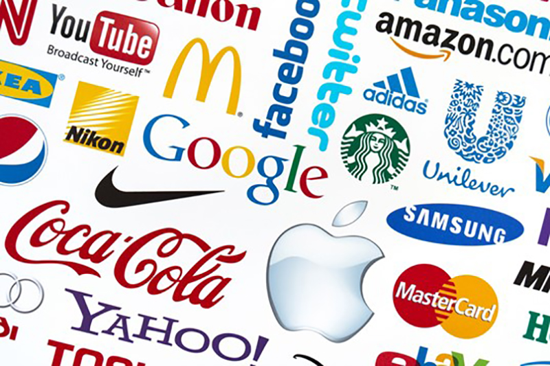 Commercial brand and logo