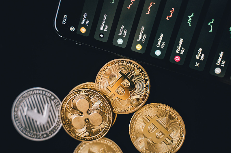Bitcoins and trading apps