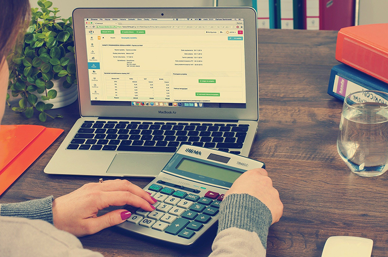 Bookkeeping Accounting concept